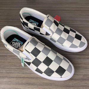 Vans Classic SlipOn Shoes ComfyCush Half Big Check